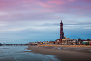 blackpool tower seaside