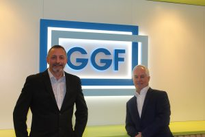 Chris Beedel of FENSA and Richard Hearn of the Glass and Glazing Federation