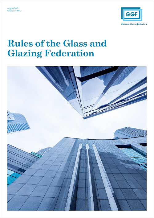 rules of the glass and glazing federation
