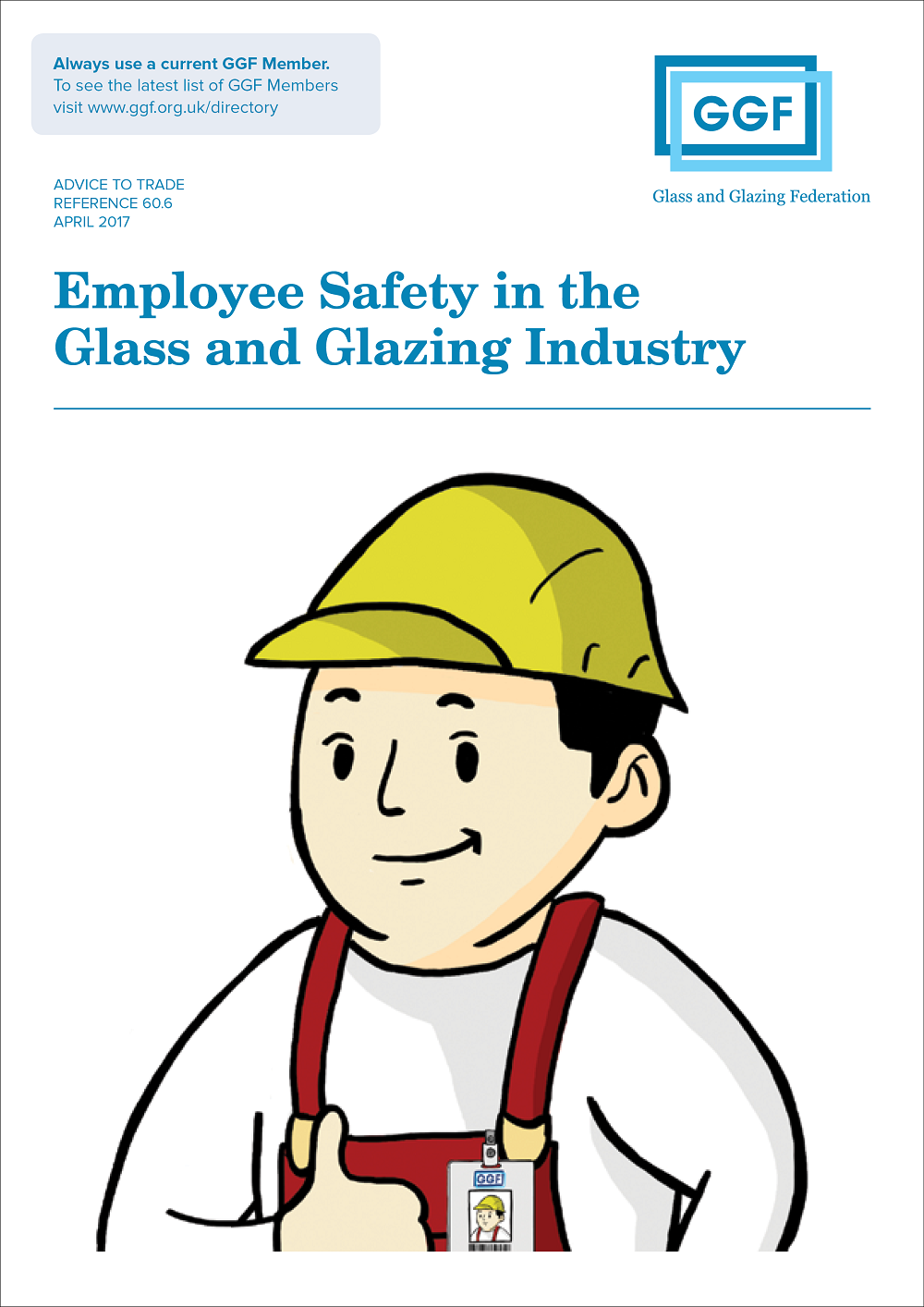 GGF employee safety in the glass and glazing industry