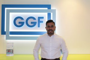 Maruf Ahmad (GGF Group Project Manager) at GGF offices