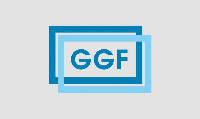 ggf - logo squared grey