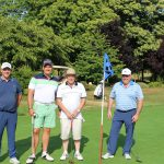 Golfing party at GGF London and South East Golf Day 2018