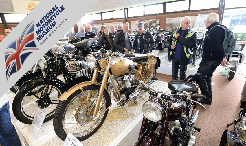 collection at the national motorcycle museum solihull