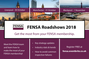 FENSA Roadshow 2018 Calendar - North West