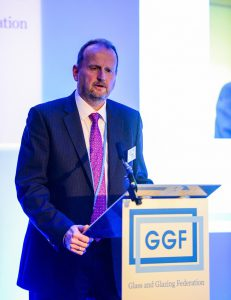 GGF President John Agnew at GGF Members Day 2018