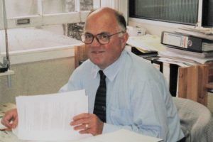 John Weir, GGF Technical Secretary